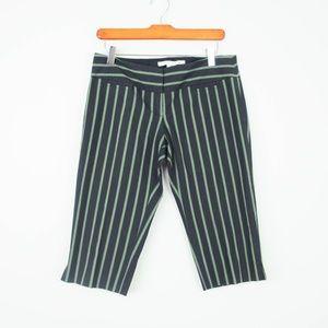 Diane Von Furstenberg Bermuda Shorts Pin Stripe